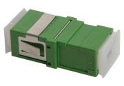 Adapter, SC/APC SPX, FL, grønn