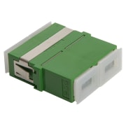 Adapter, SC/APC DPX, FL, grønn