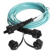 12-fiber IP-MPO m/støvhette, 50/OM3