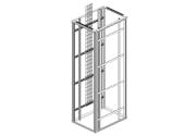 Frittstående Flexi Rack for frontmontert utstyr