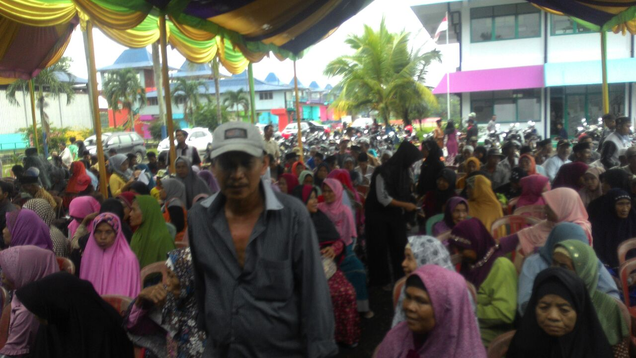 Pembebasan Lahan Perluasan Tanggul Desa Pamarayan Berlangsung Tertib