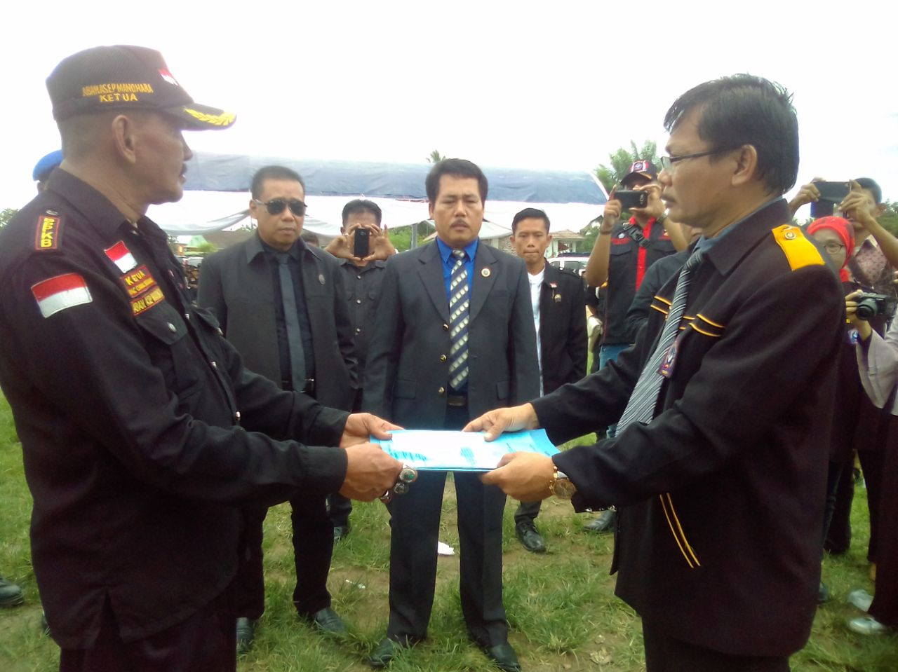 Pelantikan dan pengukuhan ketua DPAC, BPPKB Di Kecamatan Ciruas