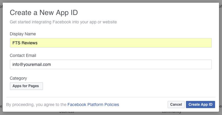 Cara Membuat Facebook App ID dan Facebook Admin Untuk Blog