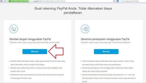 Cara Membuat Akun PayPal Tanpa Verifikasi Kartu Kredit