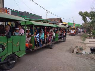 Mobil Odong-Odong Meriahkan Tahun Baru Islam Di Ciruas Desa