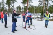 Bilder Nybroloppet på skidor 2015