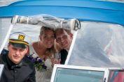 Avfärden efter bröllopet