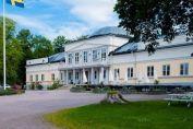 Semesterbesök på vackra Gränsö Slott i Västervik