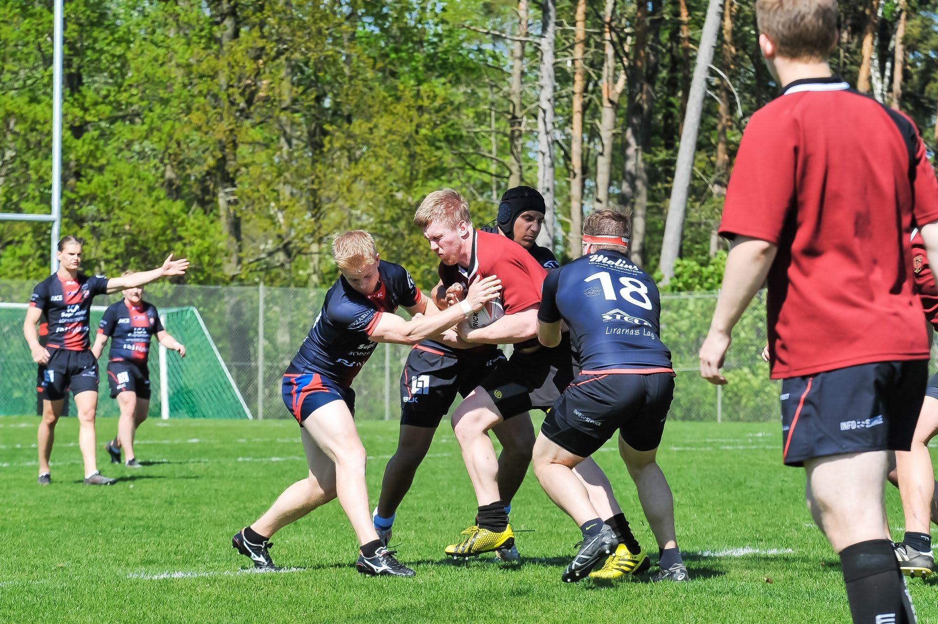 Kalmar Södra Rugby vs Lugi Lions 170521