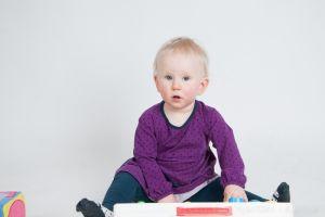 Barnfotografering i fotostudion