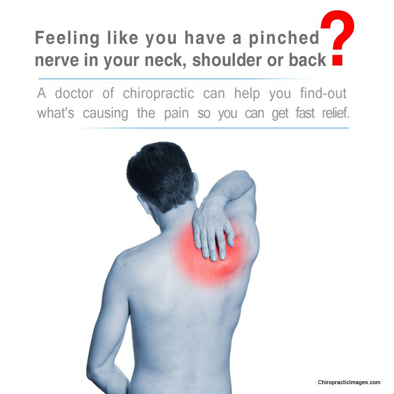 pinched nerve in your back