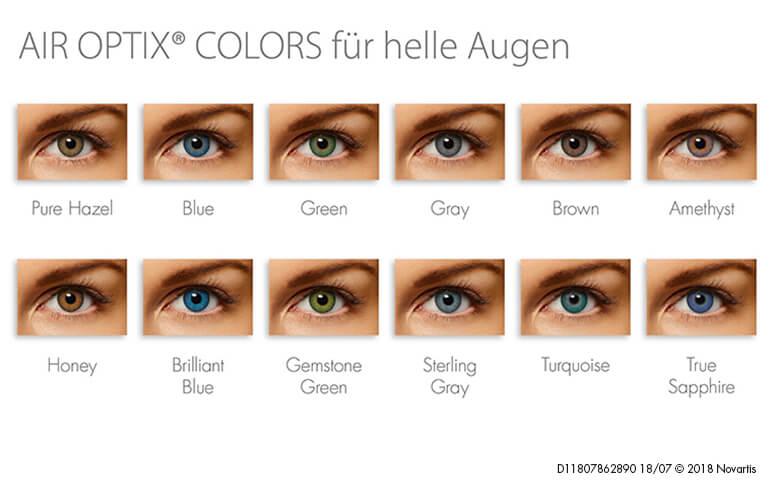 Helle Augen