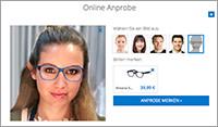 Die passende Brille merken oder bestellen