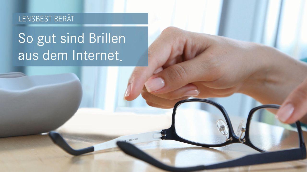 So gut sind Brillen aus dem Internet