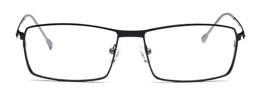 In den 1990er Jahren setzte man auf minimalistische Brillen-Designs.