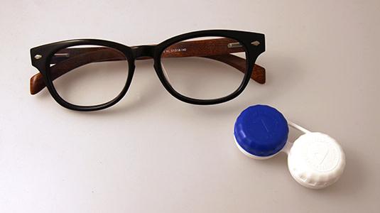 Brille vs. Kontaktlinsen