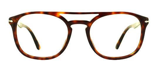 Doppelsteg Brille von Persol