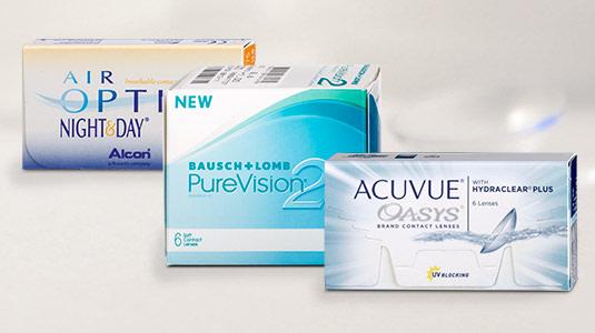 Kontaktlinsen für den Nachtgebrauch