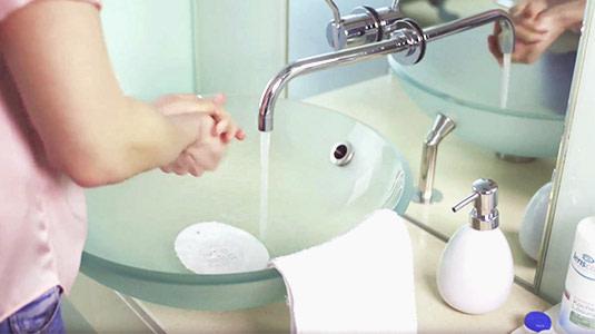 Hände waschen nicht vergessen!