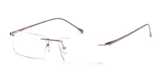 Brille aus Titan