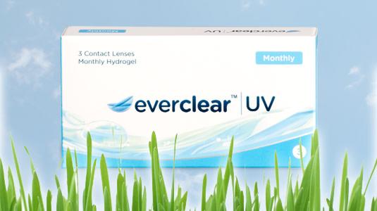 Die Everclear Monatslinsen haben UV-Schutz