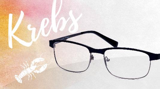 Brille für das Sternzeichen Krebs