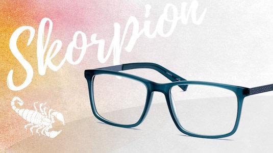 Brille für das Sternzeichen Skorpion