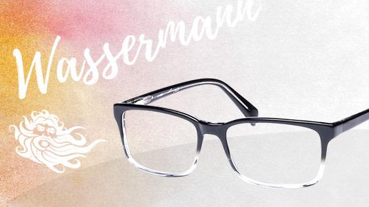 Brille für das Sternzeichen Wassermann
