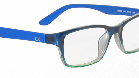 ck Calvin Klein - eine bezaubernde Damenbrille in Azurblau