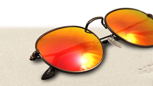 Henna - eine stylische Panto-Sonnenbrille von Lennox Eyewear