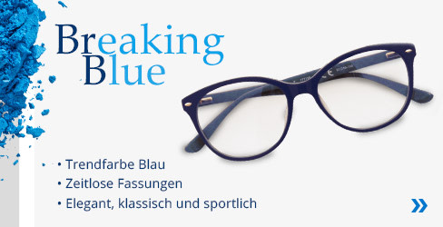 Breaking Blue Korrektionsbrillen Kollektion