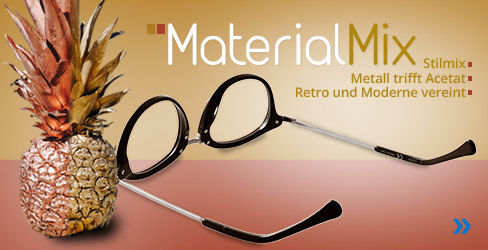 Material Mix Korrektionsbrillen-Kollektion