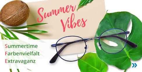 Summer Vibes Korrektionsbrillen Kollektion