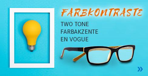 Farbkontraste Korrektionsbrillen