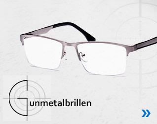 Gunmetal-Korrektionsbrillen Kollektion