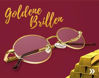 Goldene Brillen
