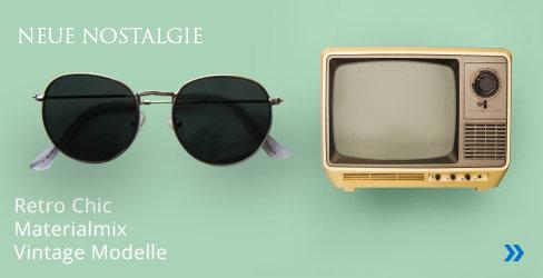 Neue Nostalgie Sonnenbrillen Kollektion