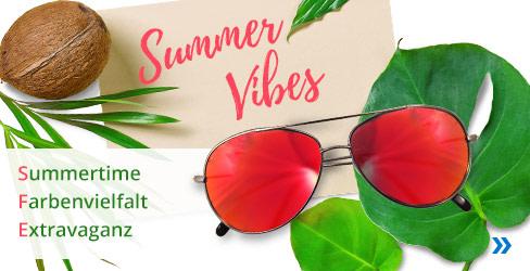Summer Vibes Sonnenbrillen Kollektion