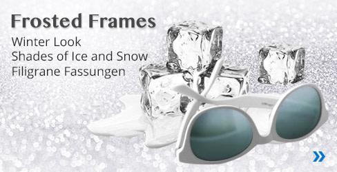 Frosted Frames Sonnenbrillen-Kollektion