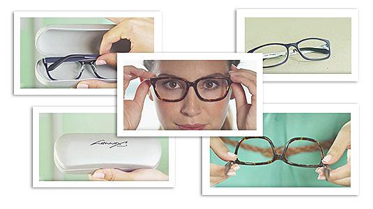 Brillen reinigen