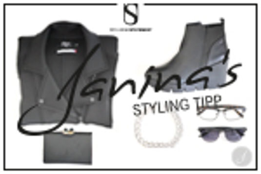 Janina's Styling Tipp: Understatement