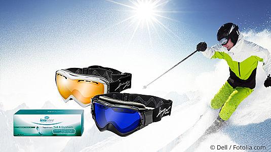 Perfekte Sicht beim Wintersport
