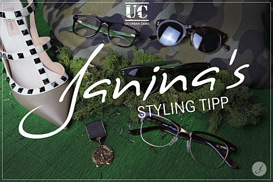 Janina's Styling Tipp: Trendkollektion Urban Camo