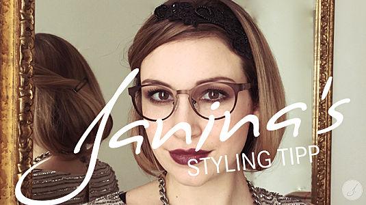 Janina's Styling Tipp: Panto Brillen