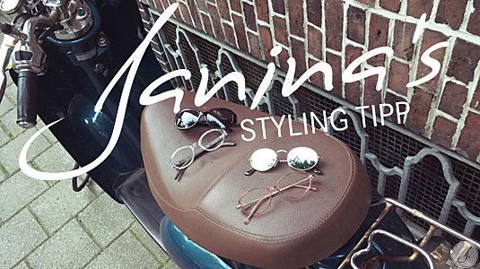 Janina's Styling Tipp: Ovale Brillen