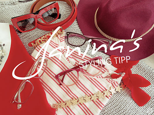 Janina's Styling Tipp: Range of Red
