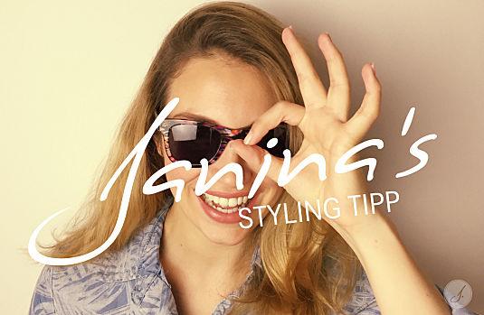 Janina's Styling Tipp: Wayfarer Brillen