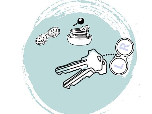 Kontaktlinsenbehälter – viel zu schade zum Wegwerfen!