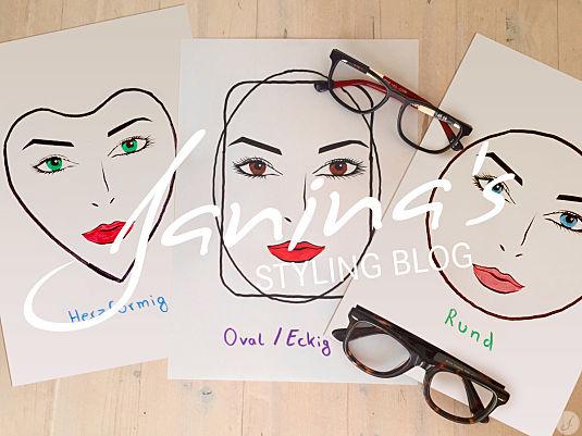 Janina's Styling Tipp: Bestimme deine Gesichtsform!