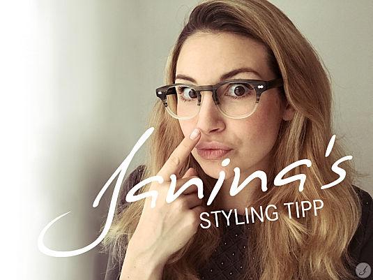 Janinas Styling Tipp: Nasen im Einklang mit der Brille